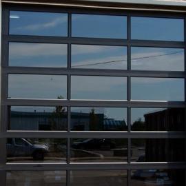 Portes de garage lafleur industrielles et rsidentielles - Porte sectionnelle industrielle occasion ...